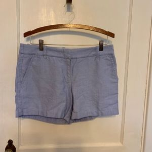 J. Crew oxford blue shorts size 6